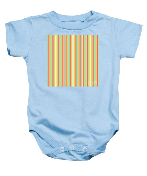 Lines Or Stripes Vintage Or Retro Color Background - Dde589 Baby Onesie