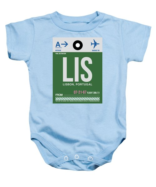 Lis Lisbon Luggage Tag II Baby Onesie
