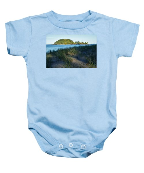 Little Presque Isle Island Baby Onesie