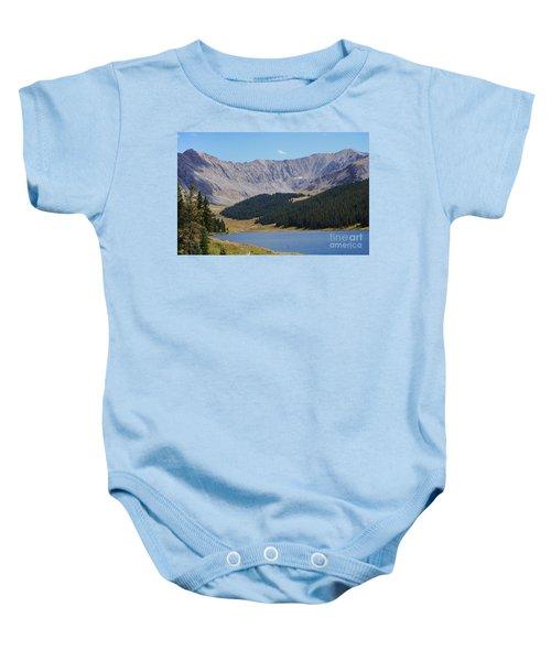 Longs Peak Colorado Baby Onesie