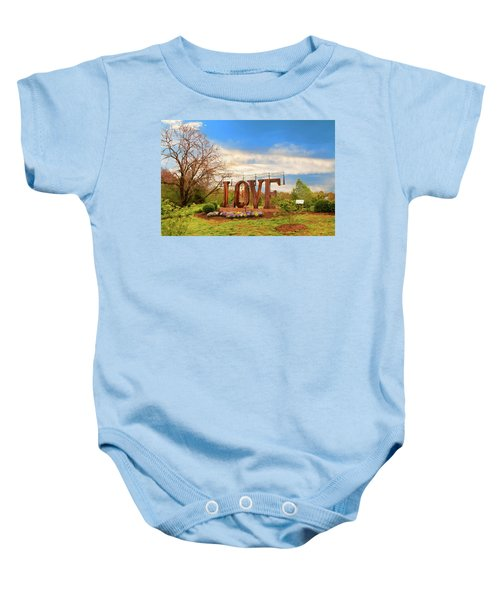 Love In Farmville Virginia Baby Onesie