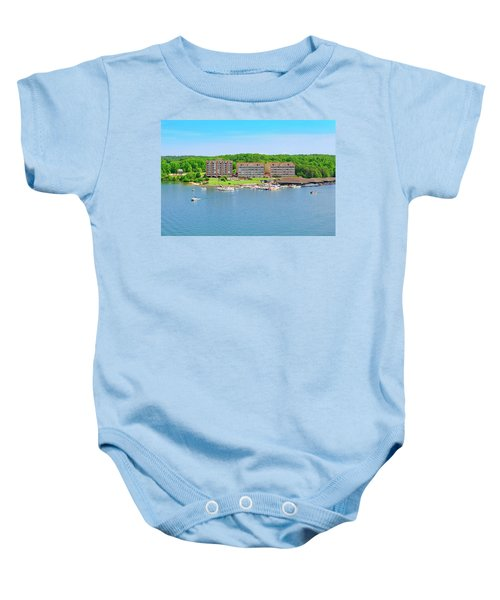 Mariners Landing Poker Run Baby Onesie