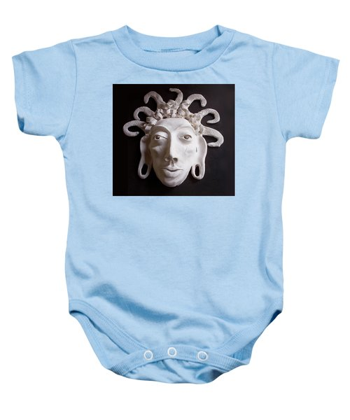 Mask The Aztec Baby Onesie