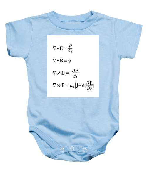 Maxwell's Equations Baby Onesie