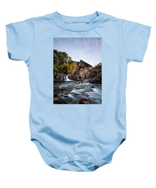 Mill On Crystal River Baby Onesie