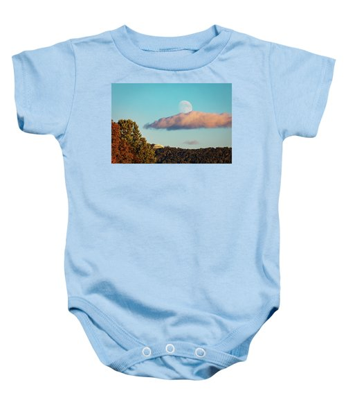 Moon Over Summit House Baby Onesie