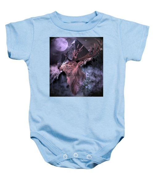 Moonlight Buck Baby Onesie