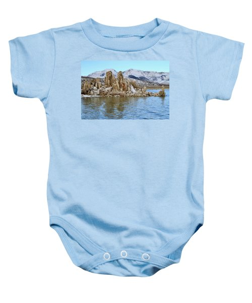 Mount Dana At Dawn  Mono Lake Baby Onesie