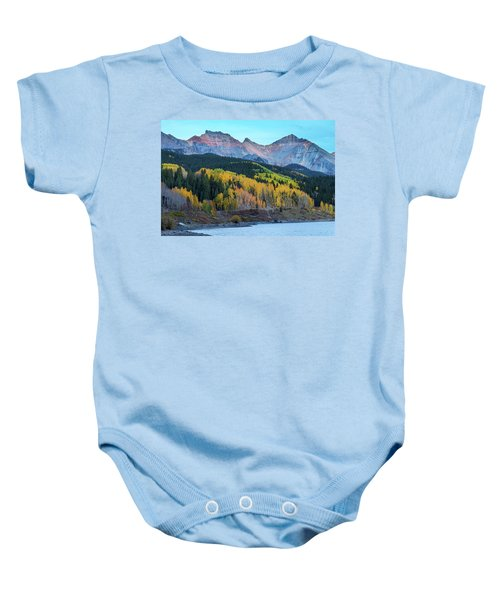 Baby Onesie featuring the photograph Mountain Trout Lake Wonder by James BO Insogna