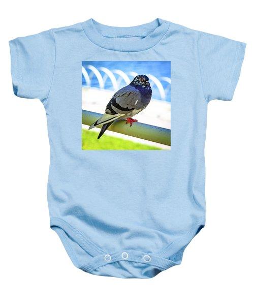Mr. Pigeon Baby Onesie