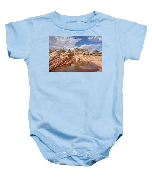 Natural Architecture Baby Onesie