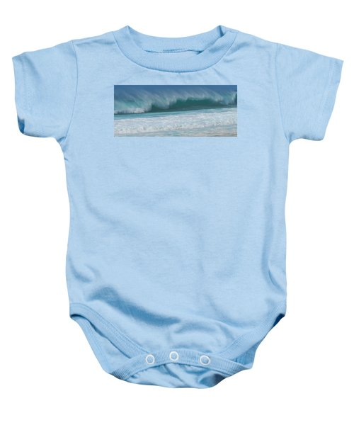 North Shore Surf's Up Baby Onesie