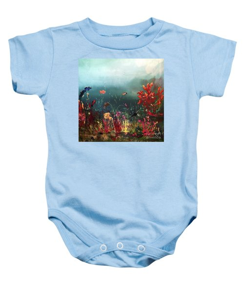 Ocean Beauty Baby Onesie
