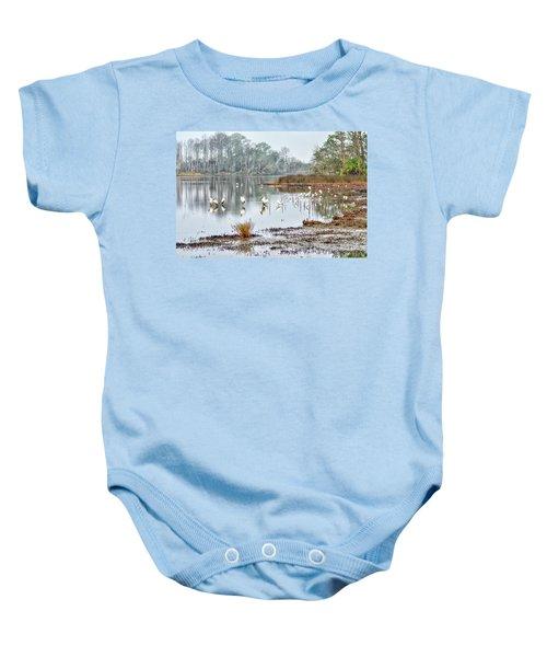 Old Rice Pond Baby Onesie