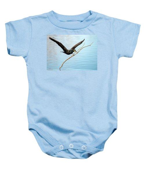 Over-achieving Cormorant Baby Onesie
