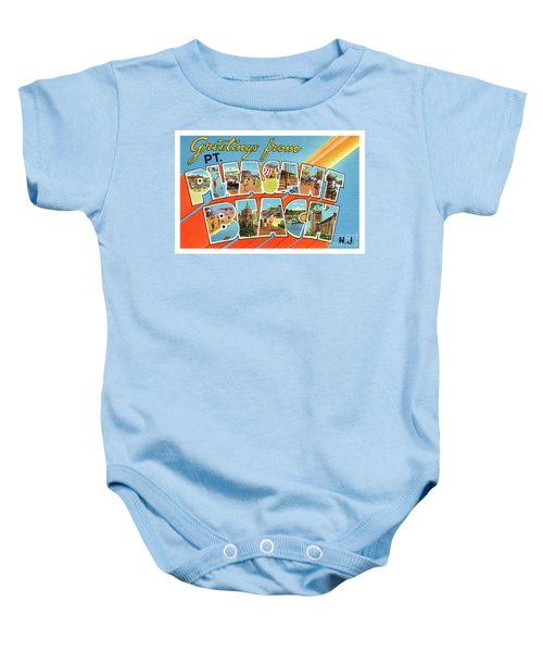 Point Pleasant Beach Greetings Baby Onesie
