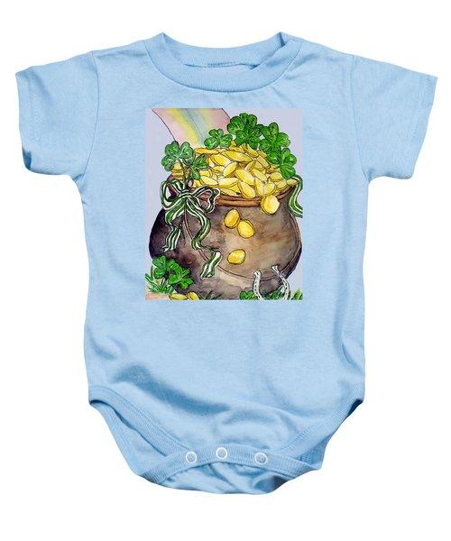 Pot-of-gold Baby Onesie