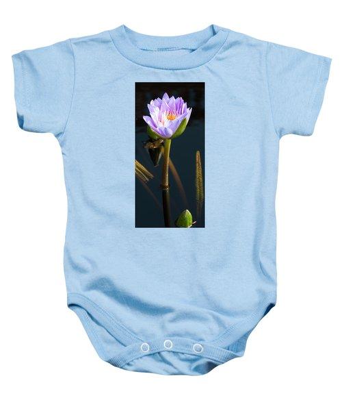 Purple Elegance Baby Onesie