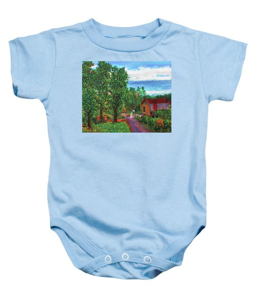 Scene From Giverny Baby Onesie