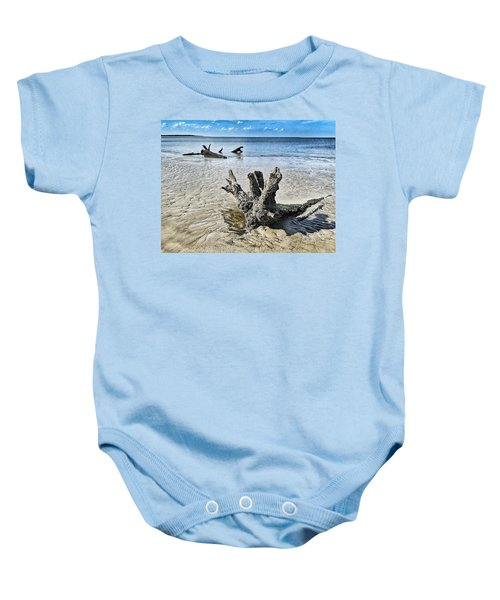 Sculpted By The Sea Baby Onesie