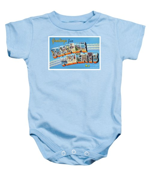 Seaside Heights Greetings Baby Onesie