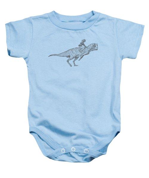 Siberian Dinosaur Baby Onesie