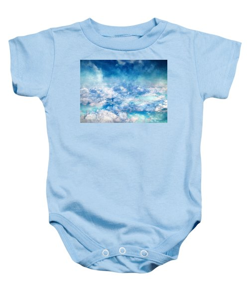 Sky Moods - A View From Above Baby Onesie