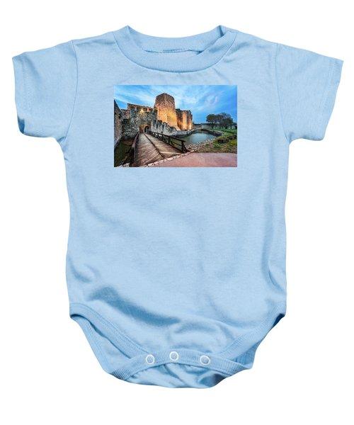Smederevo Fortress Gate And Bridge Baby Onesie