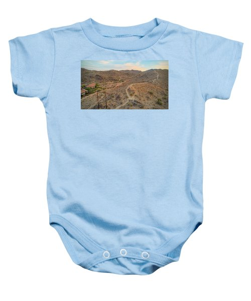 South Mountain Baby Onesie