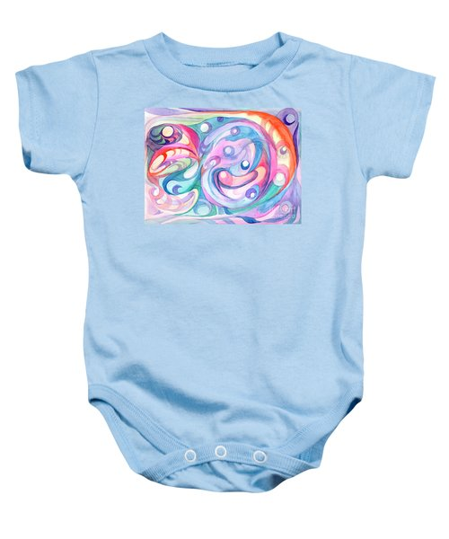 Space Abstract Baby Onesie