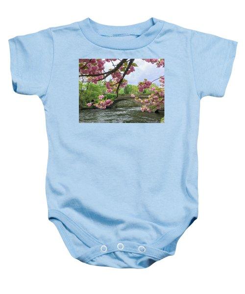 Spring Time In Windham  Baby Onesie