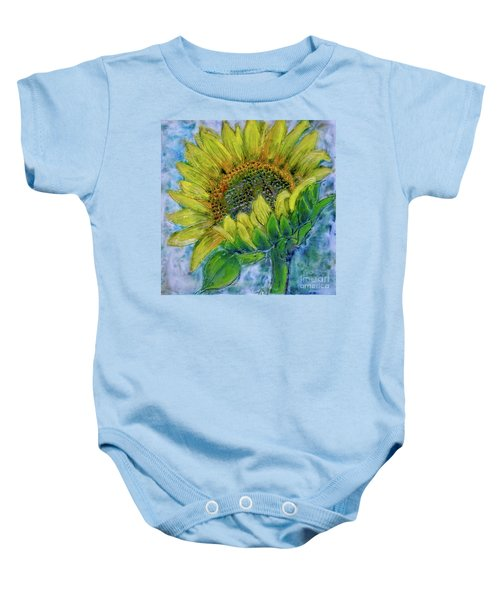 Sunflower Happiness Baby Onesie