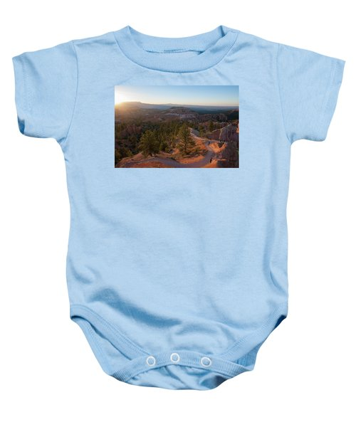 Sunrise Over Bryce Canyon Baby Onesie