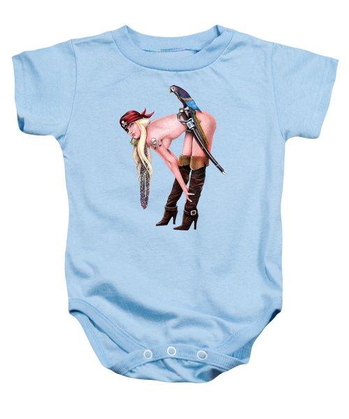Tampa Pirate Baby Onesie