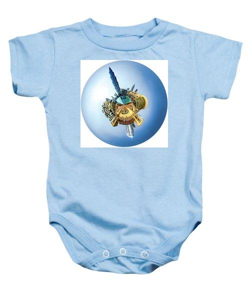 The Amazing Burj Khalifa Baby Onesie