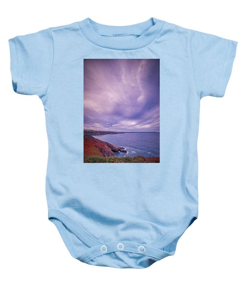 The Lizard Point Baby Onesie