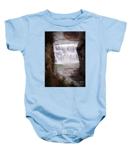 The Middle Falls Baby Onesie