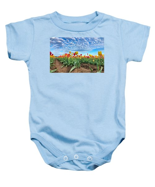 Touch The Sky Baby Onesie
