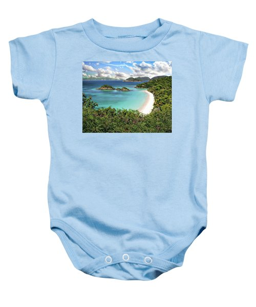 Trunk Bay Baby Onesie