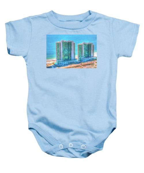 Turquoise Place Baby Onesie