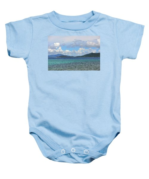 Two Nations Baby Onesie