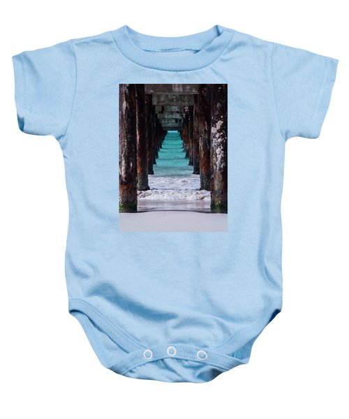 Under The Pier #3 Opf Baby Onesie
