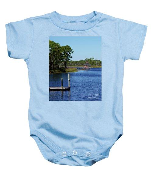 Western Lake Florida Baby Onesie