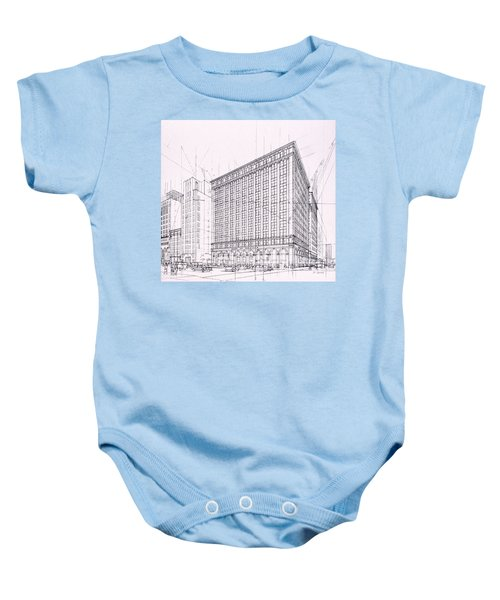 Downtown L. A. Baby Onesie