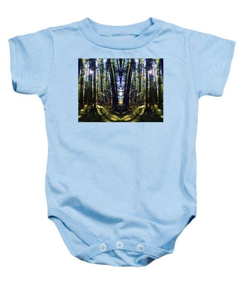 Wild Forest #1 Baby Onesie