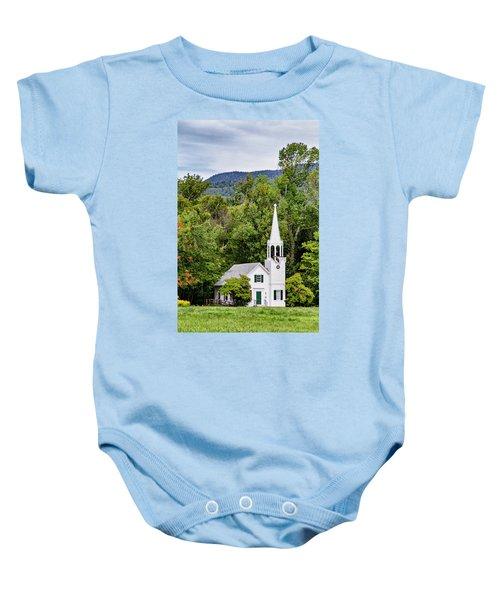Wonalancet Union Chapel Baby Onesie