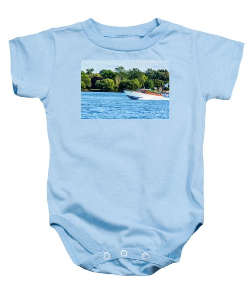 Yes Its A Chris Craft Baby Onesie