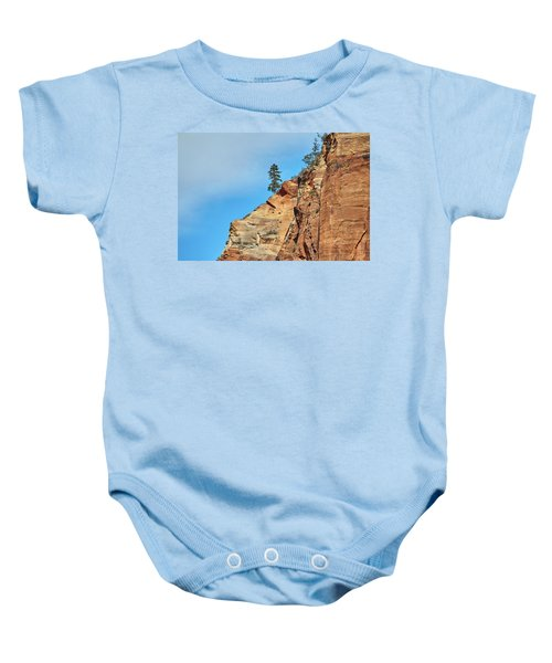 Zion National Park Baby Onesie