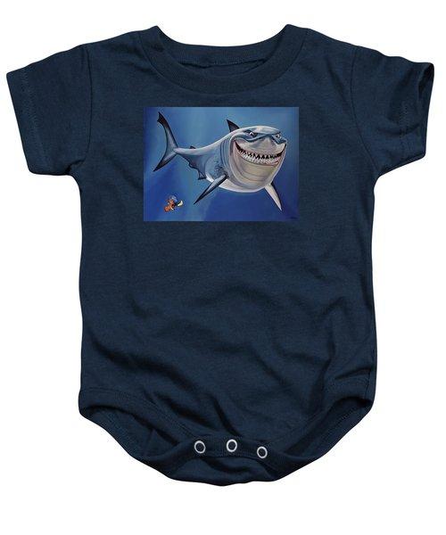 Finding Nemo Painting Baby Onesie