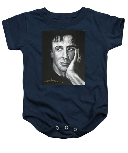 Sylvester Stallone Baby Onesie